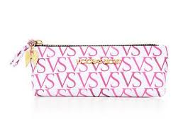 victoria s secret vs logo small makeup cosmetic bag