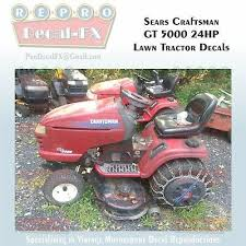 sears craftsman gt5000 24hp lawn