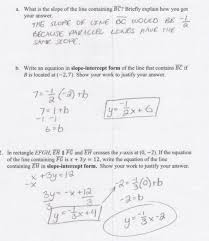 math worksheets parallel and perpendicular lines worksheet example