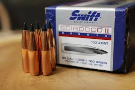the 180 grain 30 caliber polymer tipped swift scirocco iis make a fantastic all around big game load