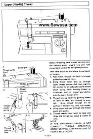 Threading Sewing Machine Brother