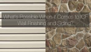 finishing icf exterior walls