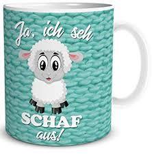 Tasse Mit Ich Seh Schaf Aus Spruch Als Geschenk Lustig Für Arbeit