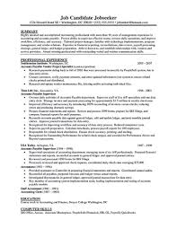 Accounts Payable Resume Impressive Professional Resume For Rosemarie Salvarani Page 48 487 Account