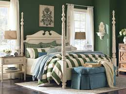 awesome bedroom design ideas using high poster bed frames minimalist green bedroom decoration using white