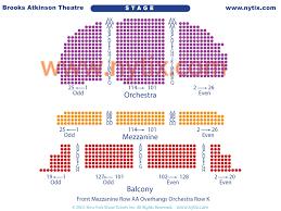 Brooks Atkinson Theatre Seating Chart Brooks Atkinson Theatre On Broadway In Nyc
