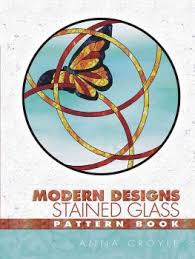 Stained Glass Pattern Books Interesting Buy Modern Designs Stained Glass Pattern Book By Anna Croyle With
