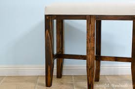 bar stool bench. Add Extra Seating To Your Kitchen Island With These Barstool Benches. Easy Build Bar Stool Bench