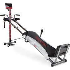 Total Gym 1400 Deluxe Home Fitness Exercise Machine Equipment With Workout Dvd Walmart Com