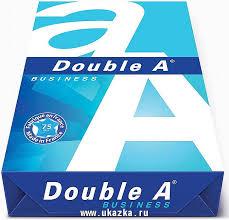 """Double A <b>Бумага</b> """"<b>Double A</b>"""", <b>A4</b>, 500 листов, эвкалипт, 75 г/м"""