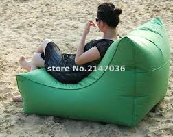 inspiring bean bag chair with back large space and wide waterproof outdoor bean bag chair with