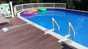 decks for above ground pools decking ideas for above ground pools how to build