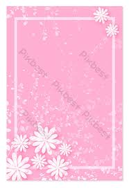 Pink Snowflake Border Background Backgrounds Template Ai