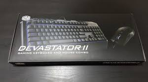 Cm Storm Devastator Keyboard Not Lighting Up Cooler Master Devastator Ii Keyboard Mouse Combo Review