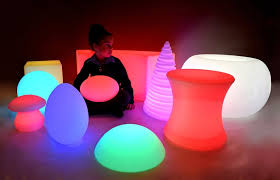 led rechargeable light up furniture for decor 9