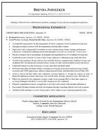 Social Work Resume Sample Gorgeous Social Worker Resume Samples Free Musiccityspiritsandcocktail