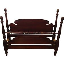 antique mahogany bedroom chairs. vintage 1950\u0027s mahogany full-size acorn poster bed antique bedroom chairs