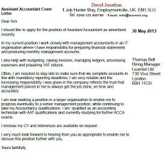 Tax Accountant Cover Letter Example