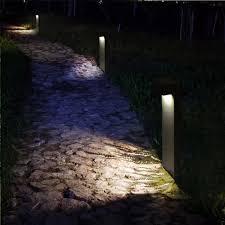 Outdoor Landscape Lighting Us 58 34 38 Off Outdoor Garden Landscape Lighting 220v 110v 12v Led Lawn Lamp 5w Cob Waterproofled Garden Path Light Column Lights In Outdoor