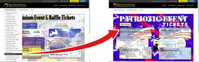 Event Ticket Printing Software Create Event Tickets And Raffle Tickets Online Best Ticket Printing