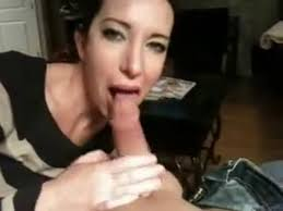 The friend's wife blowjob