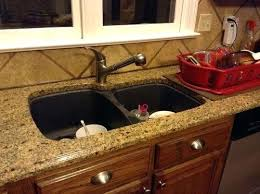 kitchen sink in replace granite inspirations one piece and countertop s custom stainless steel counter designs