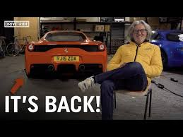 Then goes for a reasonably fast drive. What Happened To James May S Ferrari 458 Speciale Youtube