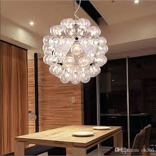 bubble lighting chandeliers creative glass chandelier light modern pendant lamp heads by s rrick ny