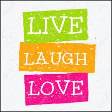 フレーズ ライブ笑い愛をベクター デザイン流行に敏感な図のイラスト素材
