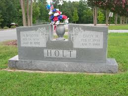 Allen Bascom Holt (1894 - 1992) - Genealogy