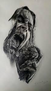 Sketch Zombie Par Stephane Buenotatoueur Studio Black Corner Tattoo