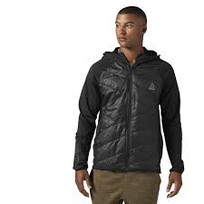 reebok jacket. reebok - primaloft™ padded jacket black cf0144 r