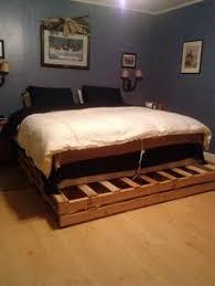 pallet king size bed 1001pallets com king size pallet bed home design 2 diy beds mamak