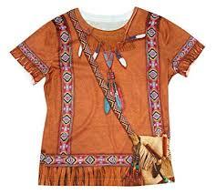 American Princess Size Chart Amazon Com Child Native American Indian Princess T Shirt