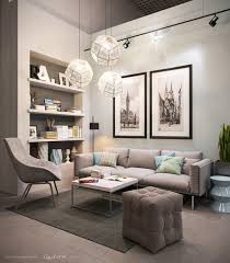 Living Room: Gray And Orange Living Room Ideas - Living Rooms