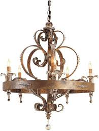 country chandelier winthrop french interlocking circle country chandelier astounding french