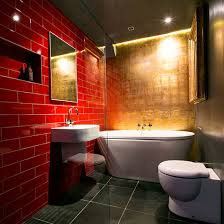 lighting ideas for bathroom. simple lighting red and gold bathroom with led lights  brilliant lighting  bathroom decorating ideas with lighting ideas for