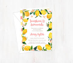 Text Invitations Pink Lemonade Birthday Invitations