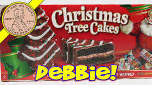 Little debbie copycat recipes to make at home. Little Debbie Christmas Tree Snack Cakes Oh Christmas Tree Youtube