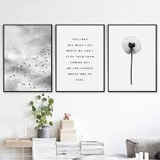 2019 icture for living room nordic landscape es canvas painting black white poster sky print natural wall art picture for living room home