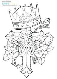 Coloring Pages Crosses Stained Glass Cross Coloring Page Modern