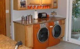 kenmore elite washer and dryer. sears kenmore elite washer dryer - burnt orange kenmore elite washer and dryer