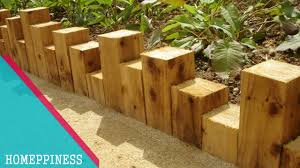 must watch with these wood garden edging ideas your garden will be perfect