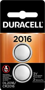 Duracell Watch Battery Conversion Chart Duracell 2016 3v Lithium Coin Battery Long Lasting Battery 2 Count