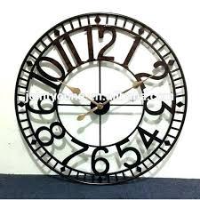 large outdoor clocks waterproof you ll