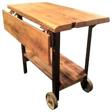 drop leaf kitchen island cart custom rustic table or carts drop leaf kitchen island cart custom rustic table or carts