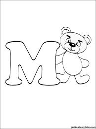 Letter M Kleurplaat Gratis Kleurplaten