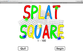 Interactive Counting Chart Splat Interactive 100s Chart Teaching Special Thinkers