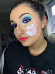 lilo and sch inspired makeup look done by myself