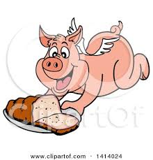 Image result for pigs, hogs, cows to fly